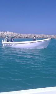 de nieuwe boot