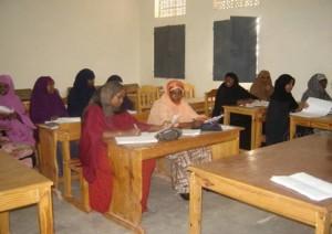Studenten in het klaslokaal